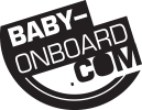 Baby on board sticker and decal