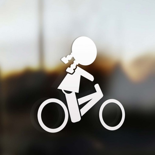 Family Girl road bike sticker