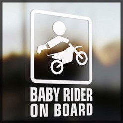 - Baby on Board stickers